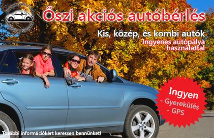 Őszi autóbérlés akció (2015)